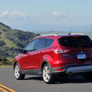 2013 Ford Escape Rear Driving