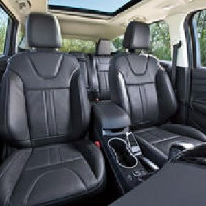2013 Ford Escape Back Seats